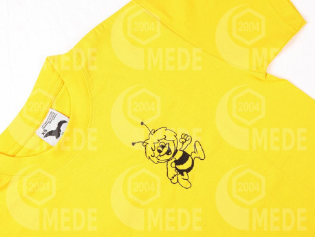 Tričko žlté detské 6