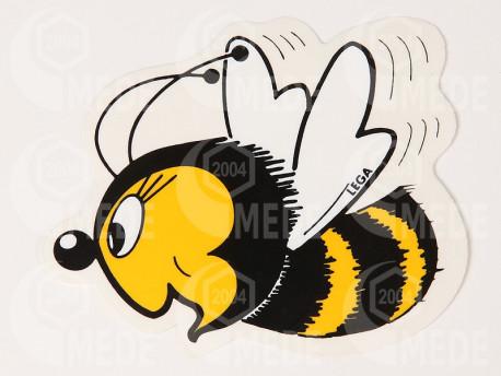 Samolepka včela veľká