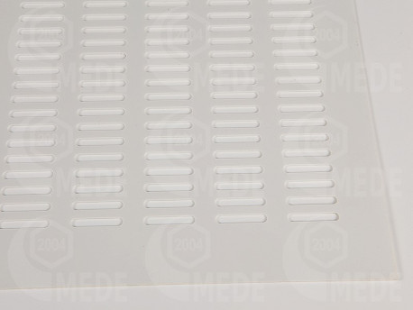 Materská mriežka plast - biela 430x490