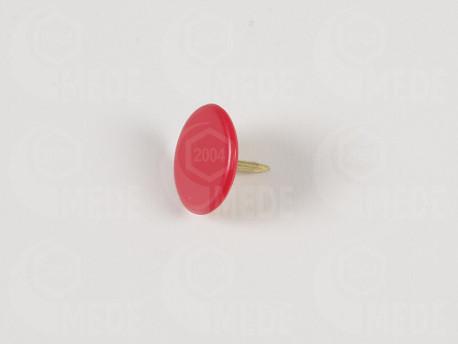Pripináček na zn. úľa farbou matky - červený 50ks
