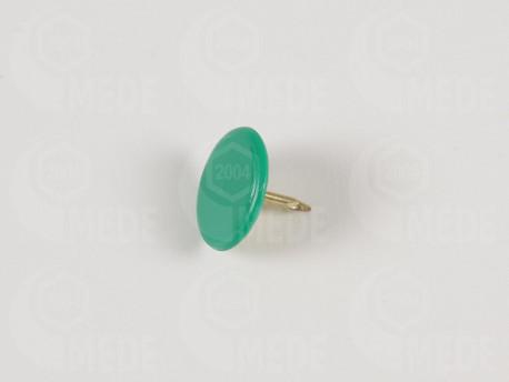 Pripináček na zn. úľa farbou matky - zelený 50ks