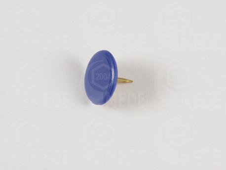Pripináček na zn. úľa farbou matky - modrý 50ks