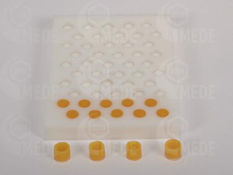 Silikónova forma na materské misky z vosku