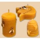 Gyertyák - méhész motívumok
